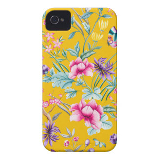 CHINOISERIE - YELLOW BASE iPhone 4 Case-Mate CASE