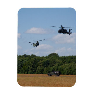 Chinook, Apache, Jeep magnet