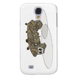 Chinook Camouflage Helicopter Cartoon Galaxy S4 Covers