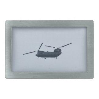 Chinook Helicopter Rectangular Belt Buckle