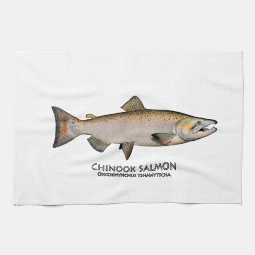Chinook - King Salmon (spawning phase) Towel