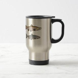 Chinook - King Salmon (spawning phase) Travel Mug
