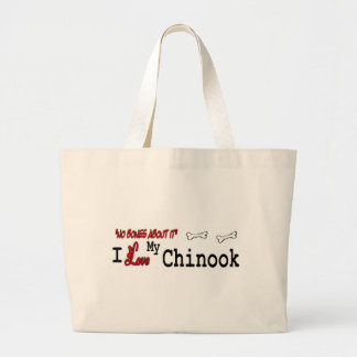 Chinook Lovers Gifts Large Tote Bag