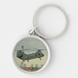 Chinook or Sea Knight Helicopter Key Chain