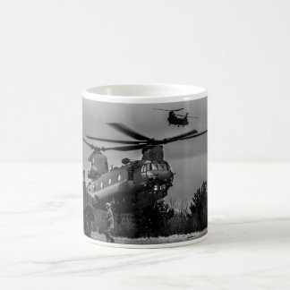 Chinook refuelling coffee mug