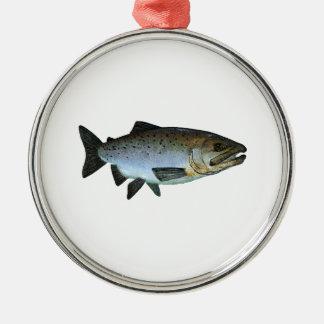 Chinook - rey salmón ornamento de navidad