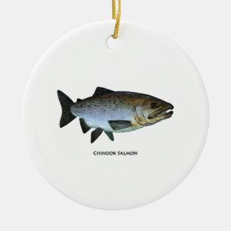 Chinook - rey salmón ornamento para reyes magos