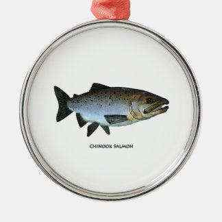 Chinook - rey salmón adorno para reyes
