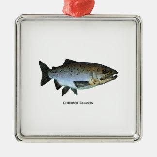 Chinook - rey salmón adorno