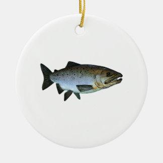 Chinook - rey salmón adornos de navidad