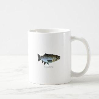 Chinook - rey salmón taza clásica