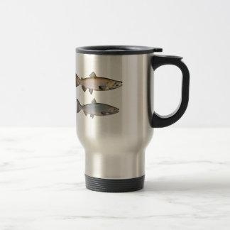 Chinook - rey salmones (que frezan fase) taza de viaje