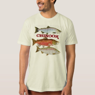Chinook Salmon Apparel T-Shirt