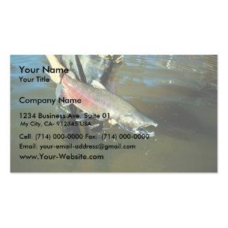 Chinook Salmon Business Cards