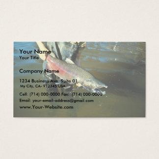 Chinook Salmon Business Card