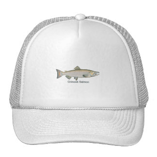 Chinook Salmon (titled) Trucker Hat