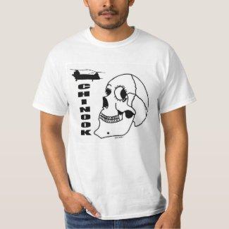 Chinook Skull T-Shirt