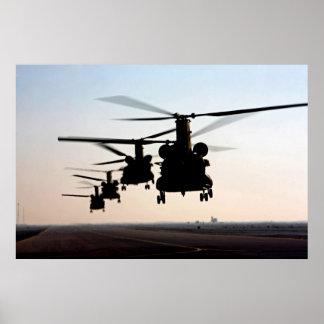 Chinooks CH-47 Impresiones