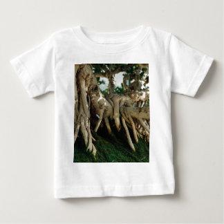 Chinsese Banyan Ficus Bonsai Roots Baby T-Shirt