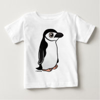 Chinstrap Penguin Baby Fine Jersey T-Shirt