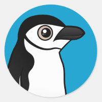 Chinstrap Penguin Round Sticker