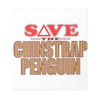 Chinstrap Penguin Save Notepad
