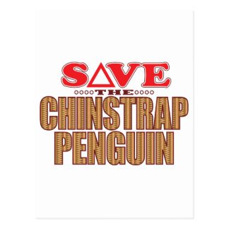 Chinstrap Penguin Save Postcard