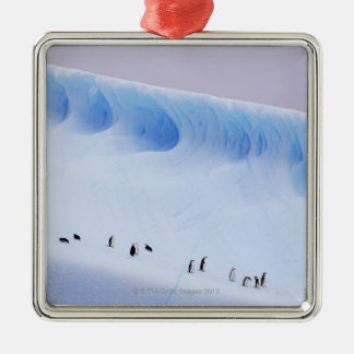 Chinstrap Penguin, South Orkney Islands Metal Ornament