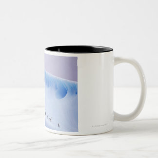 Chinstrap Penguin, South Orkney Islands Two-Tone Coffee Mug