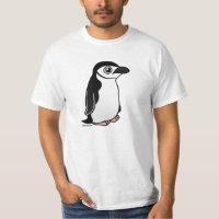 Chinstrap Penguin Men's Crew Value T-Shirt