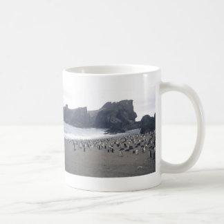 Chinstrap Penguins on Seal Island Classic White Coffee Mug