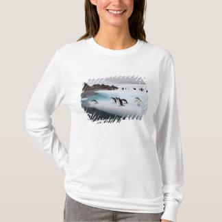 chinstrap penguins, Pygoscelis antarctica, 2 T-Shirt
