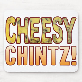 Chintz Blue Cheesy Mouse Pad