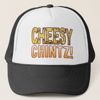 Chintz Blue Cheesy Trucker Hat
