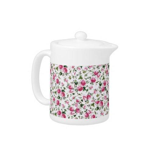Chintz print Teapot
