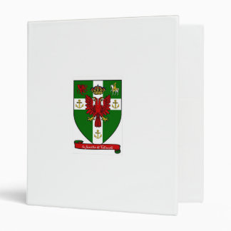 Chiocchi Family Crest 3 Ring Binder