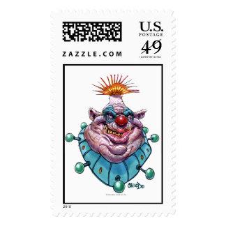 Chiodo Klownz #4 Postage Stamp