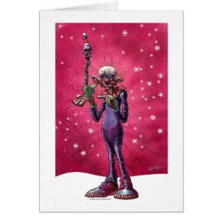 Chiodo Klownz Khristmas Kard Greeting Card