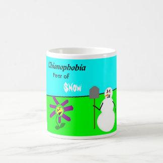 Chionophobia Coffee Mug