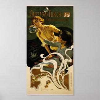 Chiozza e Turchi, fabricants de savons Poster