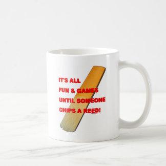 Chip A Reed Classic White Coffee Mug