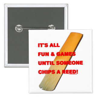 Chip A Reed Pinback Button