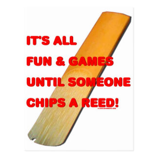 Chip A Reed Postcard