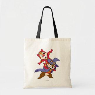 Chip 'an Dale: Halloween Canvas Bag