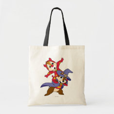 Chip 'an Dale: Halloween Tote Bag at Zazzle