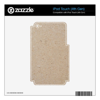chip board iPod touch 4G decal