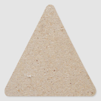 chip board triangle sticker