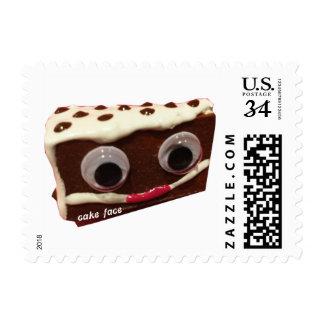 Chip Cake Face Stamp