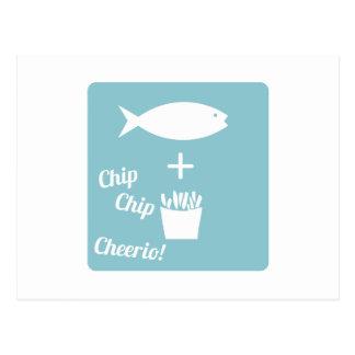 Chip Cheerio Postcards