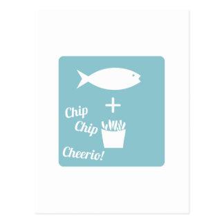 Chip Cheerio Post Card